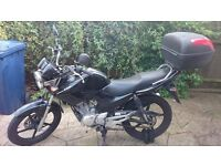 Yamaha YBR 124cc – Great Bike – Low Mileage - Includes Extras