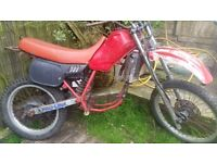 honda mtx 125 rolling chassi swap or ptx