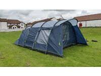 Outwell Whitecove 6 Family Tent, Carpet and Footprint