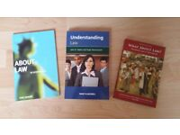 Selection of books about the Legal System