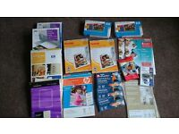 PHOTO PAPER INKJET AND OTHER PRINTING PAPER HUGE BUNDLE
