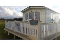 FLOWERSOFCARAVANS GOLD GRADED CARAVAN FOR HIRE ON THE FIVE STAR SOUTH VIEW LEISURE PARK SKEGNESS