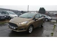 2013 Ford Fiesta zetec 1.2 petrol 5 door hatchback 12 month mot