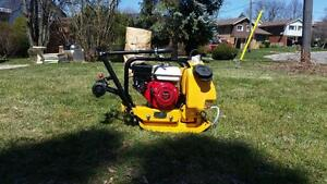 PLATE COMPACTOR TAMPER HONDA 14'' + ALL INCLUSIVE WARRANTY + WATER KIT + WHEEL KIT + FREE SHIPPING !!