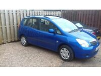 Toyota Verso T2 ( 5 SEATER VERSION ) 2002