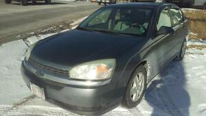 2004 Chevrolet Malibu LS AS IS, trade in, valid MVI, new tires
