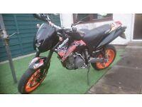 2004 KTM DUKE 640 MOT 23/8/17 1250ONO