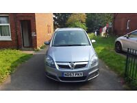 Vauhall Zafira Silver For Sale/Made 2007/Diesel