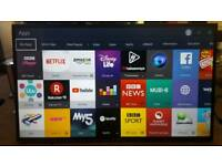 "SAMSUNG 40"" SMART 4K ULTRA HD + Smart Remote"