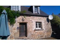 OCTOBER HALF TERM - SELF CATERING HOLIDAY SHABBY CHIC COTTAGE/GITE BRITTANY FRANCE SLEEPS 5