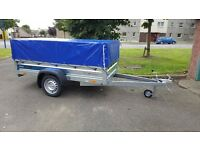 FARO Car Trailer 7.74 x 4.10 FT + mesh and mesh cover
