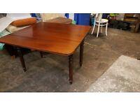 Antique Mahogany Pembroke Drop Leaf Table