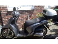 Silver Honda SH 125cc Scooter - EXCELLENT CONDITION