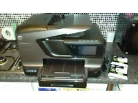hp office jet pro 8600 plus printer & ink