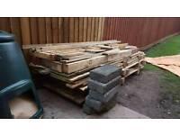 Free wood materials