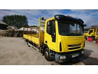 Iveco Eurocargo ML75E16 7.5t dropside lorry