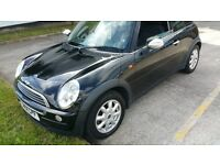 beautiful mini one hatchback 1.6 petrol with bmw chain driven engine, drives fantastic,bargain!!!