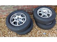 Nissan micra alloy wheels and tyres