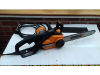 Electric Chainsaw by Worx with Accessories