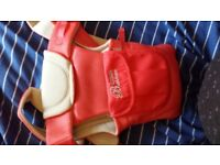 baby sling carrier coral pink