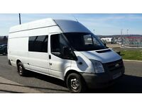 ford transit LWB 2007 100hp RWD 6 speed long MOT