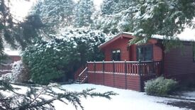 Chalet or caravan accommodation