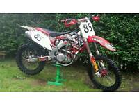 Honda crf 450 fuel injected mint bike