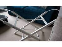 CRIB/MOSES BASKET/ CARRY COT STAND