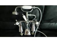 Victorian bath mixer tap