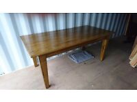 Quality solid oak table