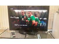 LCD HD TV 1080P 40-inch LCD TV with remote, 4xHDMI, 1xVGA, 2xUSB, 2xSCART