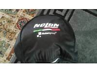 Looking for 80 make me a offer Nolan black bike helmet basically brand new