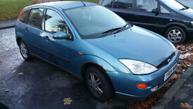 Ford Focus 1.6 2001 no MOT spares or repair, just exhaust to repair or replaced