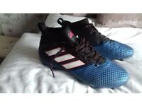 Adidas football boots size 8