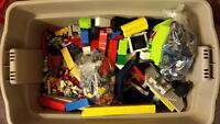 Mega Blocks / Lego. Over 50 kits,  over 30,000 piece count