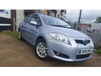 Toyota Auris 1.6 T3 Multimode 5dr. Automatic and Manual. 38600 Very Low Millage. Petrol