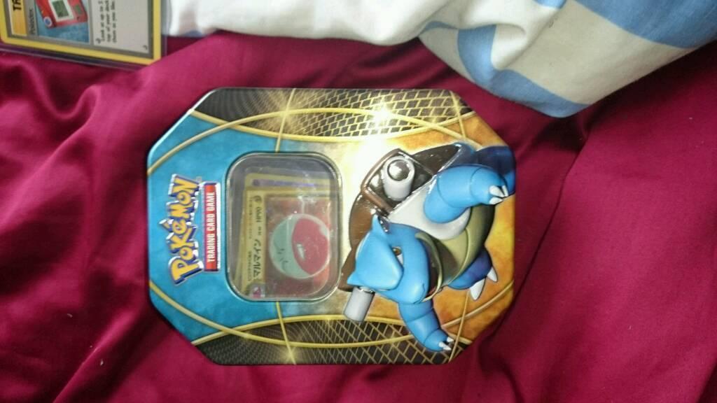 Pokemon blastoise tin free