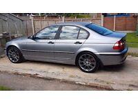 BMW E46 320D 150 bhp SAT NAV