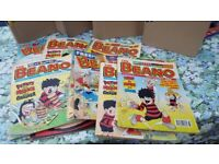 500 Beano and Dandy Comics from 1990's and 2000's plus Annuals
