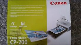 £10 CANON CARD PHOTO PRINTER - ID. UN-OPENED, ALL IN ORIGINAL PACKAGING