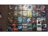 80 DVD Movie and TV Series Bundle (50p per DVD)