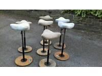 Unique Scandinavian adjustable stools