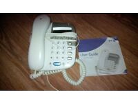 BT corded phone & cordless