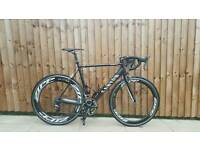Canyon ultimate carbon frame road bike with Dura Ace and Zipp