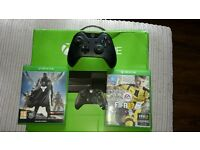 Xbox one boxed and games