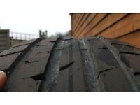 Good year run flat tyre 225/40/19