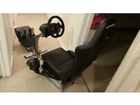 Logitech G29 + Logitech Driving Force Shifter + Playseat Evo + Gearshift Holder Pro