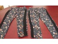 2 pairs trousers from Next. Age 9 & Age 10. In excellent condition
