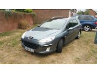 Peugeot 407 sw. Very good condition no any issue on the car ,4 new tyres 1 year MOT