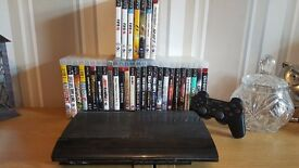 PS3 with One Controller (33 Games Included)